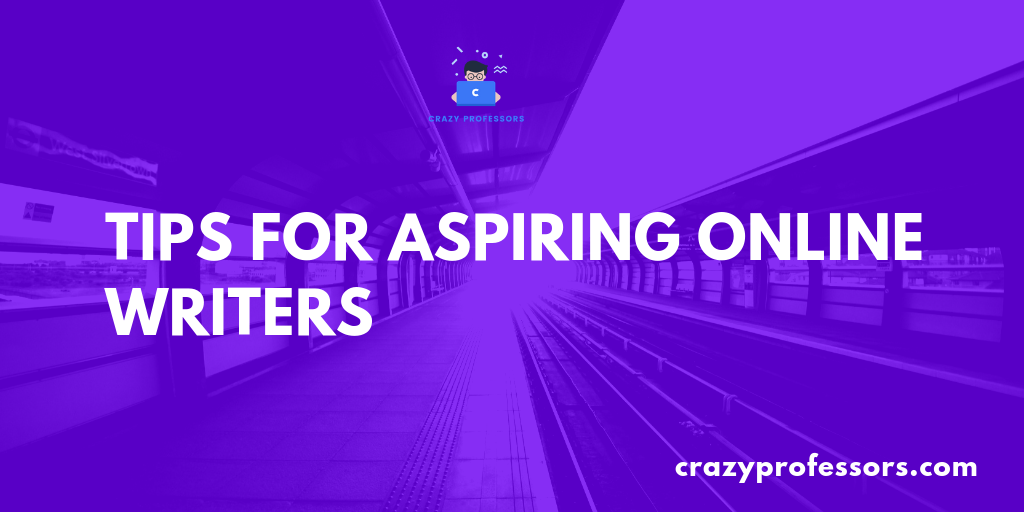 Tips for aspiring online writers (1)