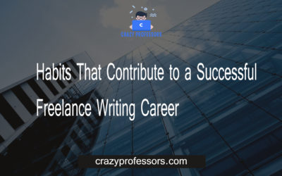Habits That Contribute to a Successful Freelance Writing Career