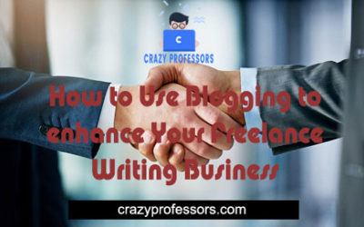 How to Use Blogging to Enhance Your Freelance Writing Business