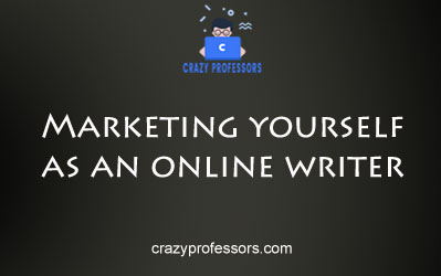 Marketing Yourself as an Online Writer