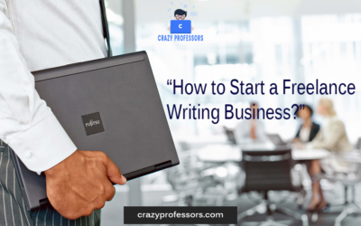 How to Start a Freelance Writing Business?