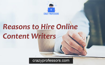 Reasons to Hire online content writers